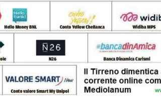 Soldi: offerte migliori per il conto corrente online