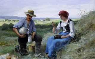 Arte: pittura  scene rurali  dupré