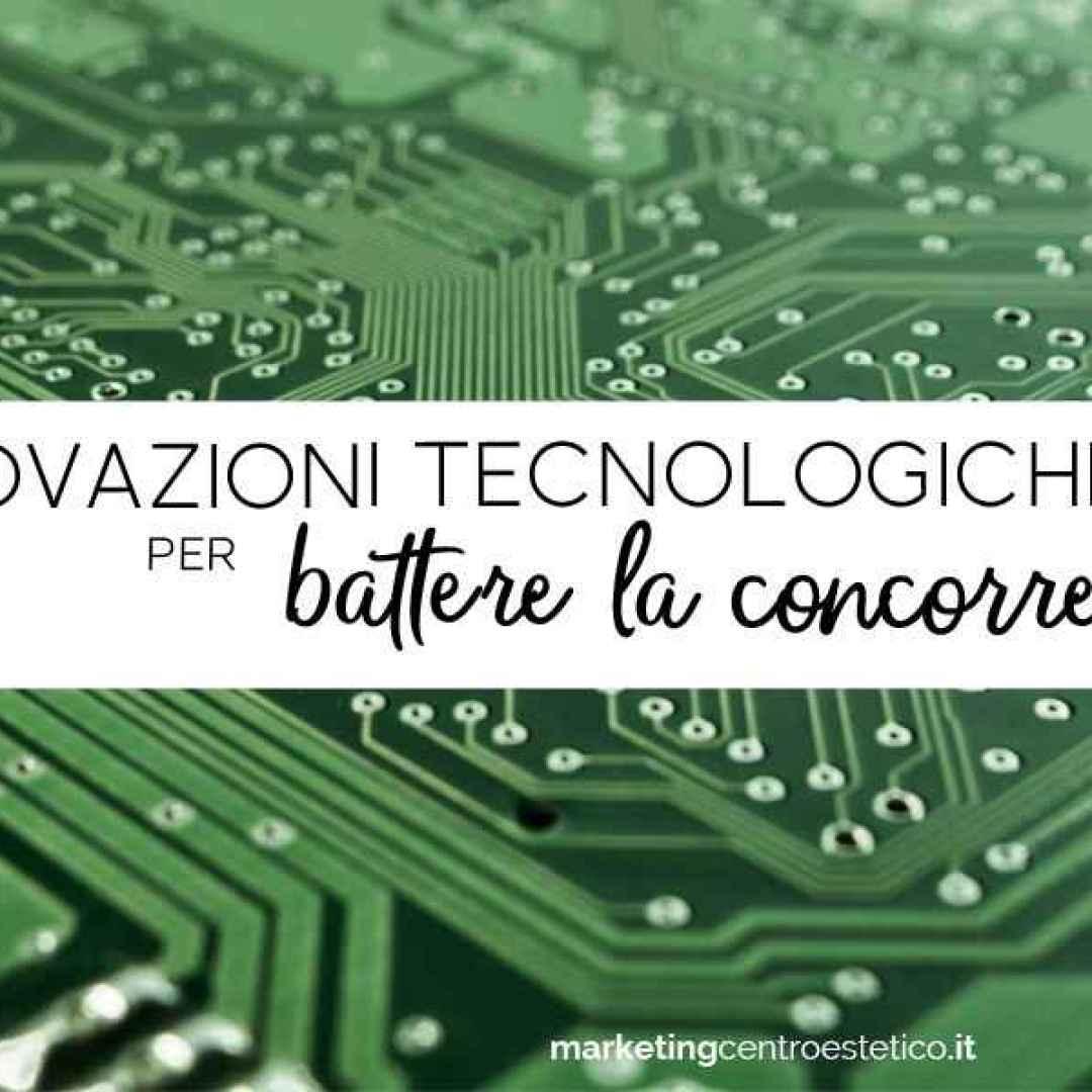 tecnologia  innovazione  marketing