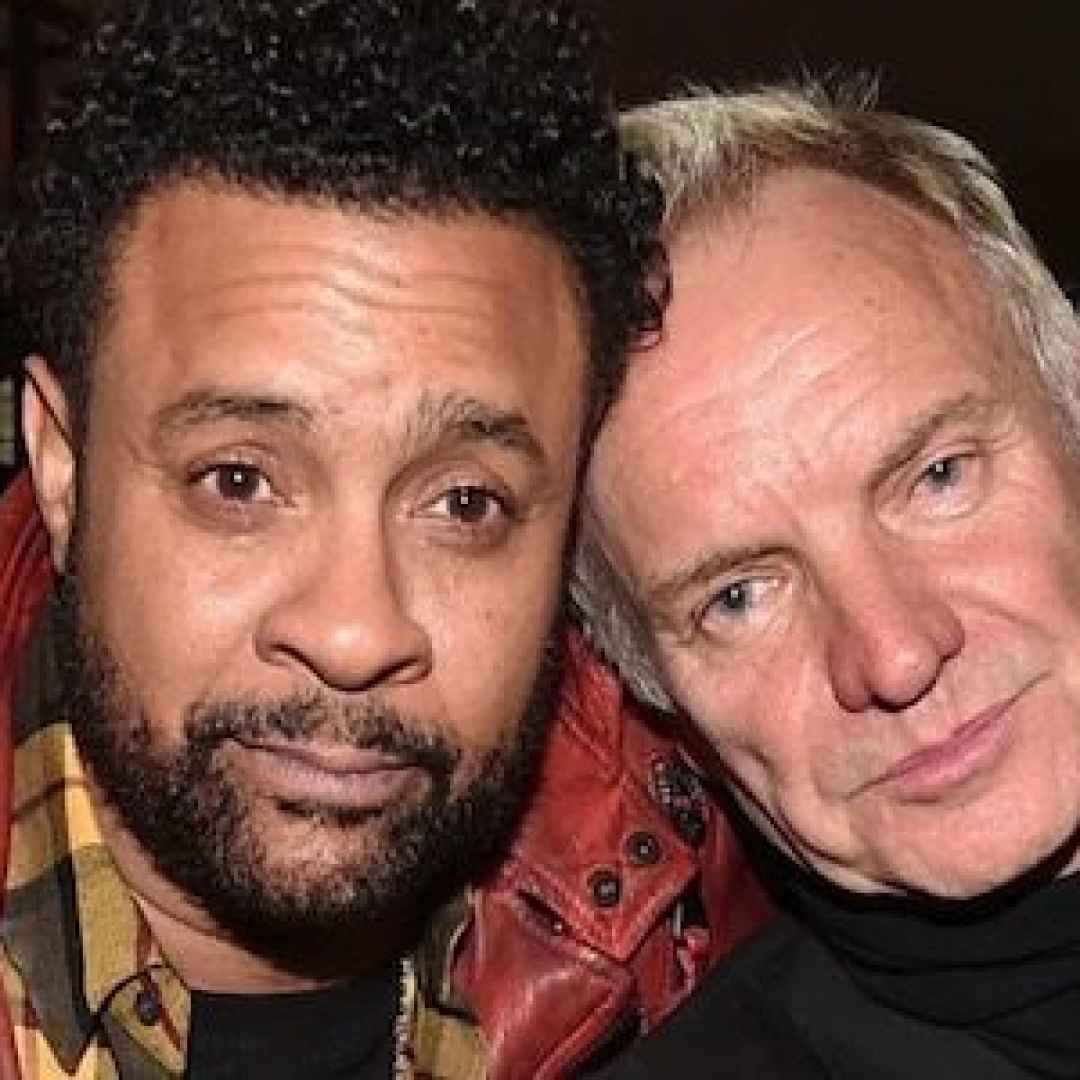 """La """"strana"""" coppia Sting & Shaggy"""