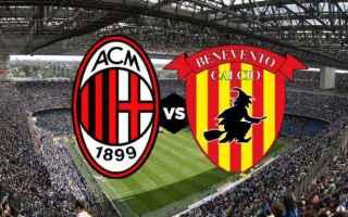 Serie A: milan  benevento