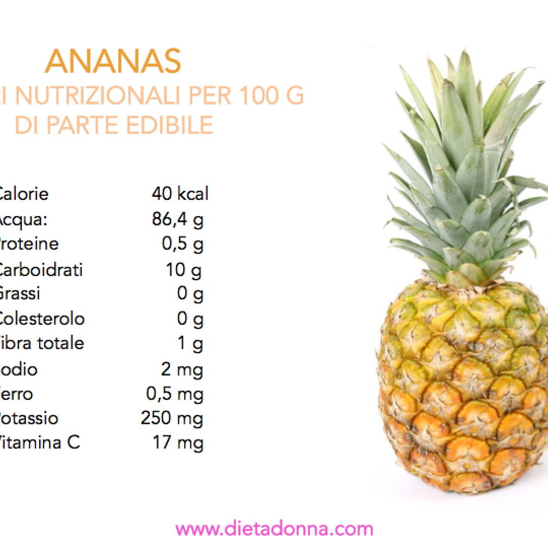 dieta ananas brucia grassi
