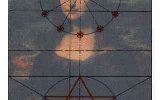 Arte: geometria composita  gioconda  leonardo