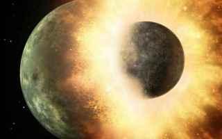 pianeta perduto  collisione