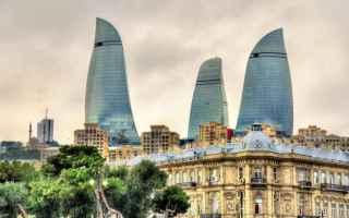Viaggi: baku  azerbaigian  formula 1  curiosità