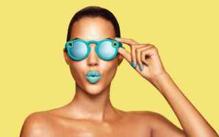 Gadget: snapchat fotocamera occhiali