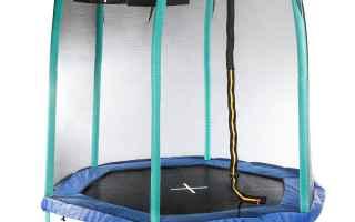giocattoli trampolino giardino