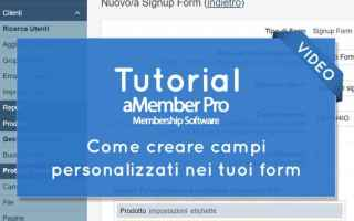 amember  membership website