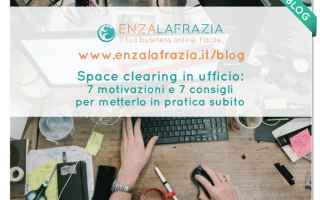 space clearing ufficio  decluttering