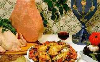 Ricette: cucina siciliana  melanzane  pollo