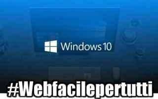 Microsoft: windows10  aggiornamento  aprile