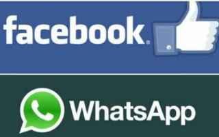 Facebook: whatsapp  facebook  messaggistica