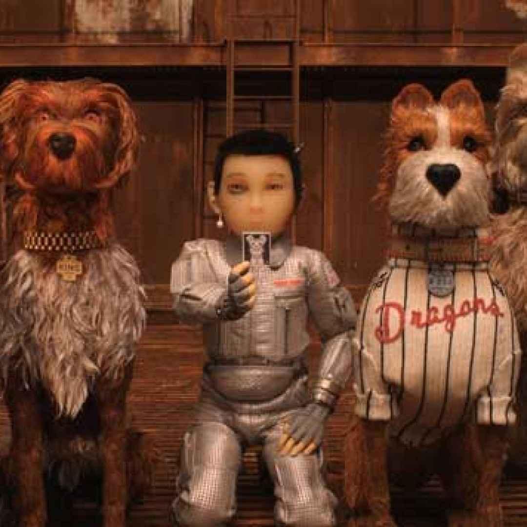isola dei cani cinema  film  animazione