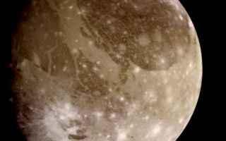 Astronomia: ganimede  galileo  nasa