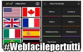Televisione: free iptv premium  app