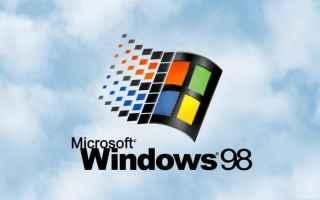 windows 98  crash  schermata blu  bill gates