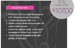 makeup younique kit job network lavoro