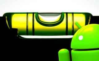 App: livella a bolla  lavoro  android  utility