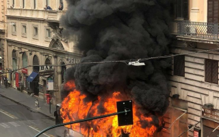 Roma: atac  flambus  roma  trasporto pubblico