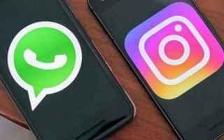 App: whatsapp  instagram