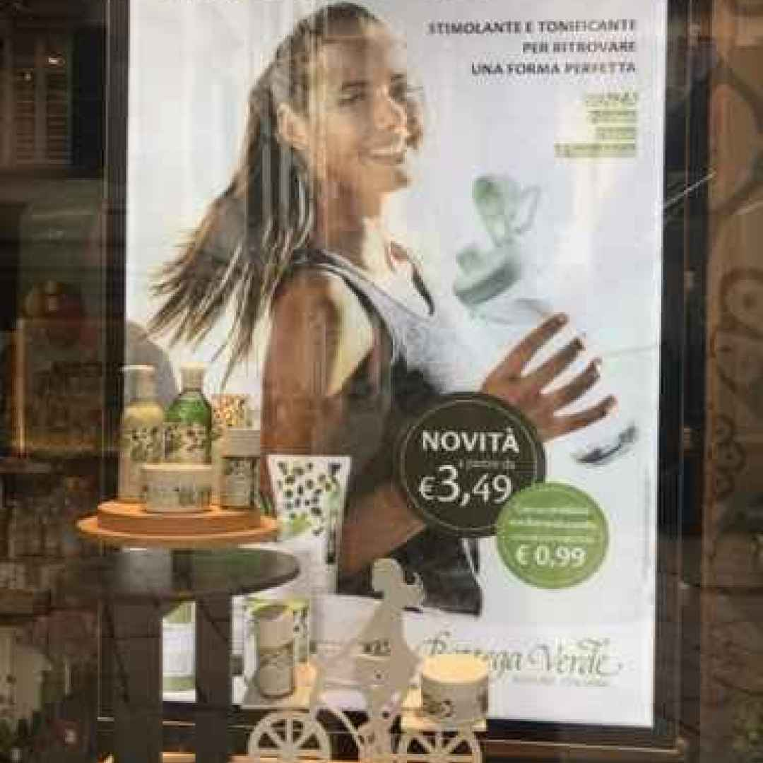 donna  bottega  verde  salute