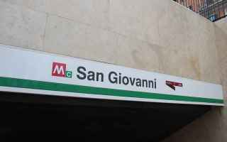 Roma: metro c  roma  san giovanni