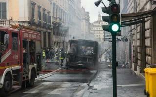 Roma: flambus  atac  roma