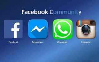 Social Network: facebook  messenger  whatsapp  instagram