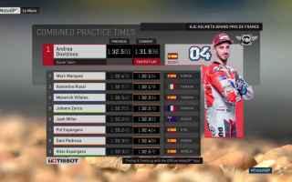 Il week end del Gran Premio di Francia, si apre nel segno di Andrea Dovizioso, che dopo una lunga tr