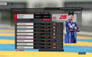 La Yamaha si conferma competitiva a Le Mans, piazzando tre moto nelle prime quattro posizioni, Maver