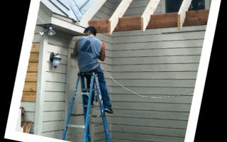 professionals painters house rainwater