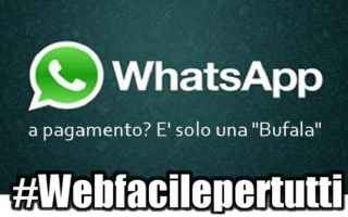 WhatsApp: whatsapp pagamento truffa