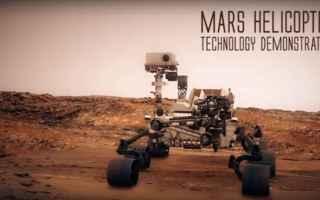 Tecnologie: La NASA utilizzerà nella sua prossima missione su Marte un drone elicottero