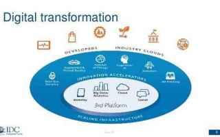 Tecnologie: rivoluzione digitale  idc
