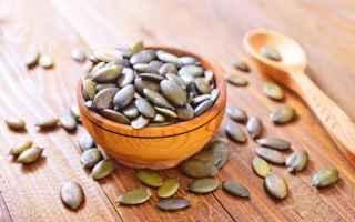 Alimentazione: semi di zucca  alimentazione