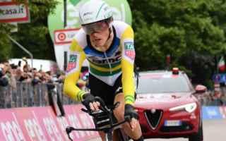 La cronometro di Rovereto era alla vigilia, uno spartiacque del  Giro, e cosi è stato con Rohann De