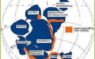 Scienze: gondwana  laurentia  rodinia  continenti