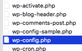 Webmaster: File di configurazione: come connettersi al database sui principali CMS