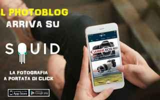 App: squid  photoblog  blog  fotografia