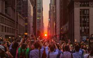 Foto: newyork fotografia tramonto america