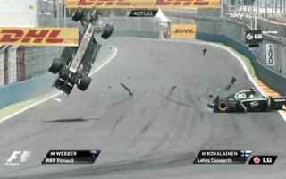 Formula 1: formula 1  red bull  incidenti