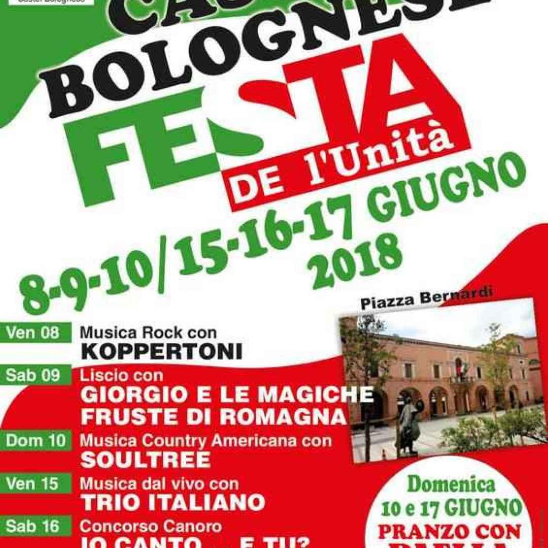 castel bolognese  festa unita. pd