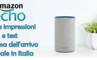 amazon echo  amazon alexa  smart speaker
