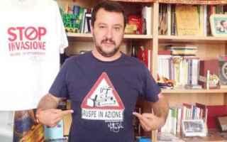Politica: immigrazione  salvini  italia  sud