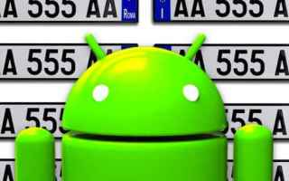 Automobili: auto  targa  furti  rca  android