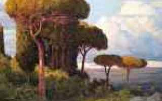 campagna romana   paesaggi  pittore