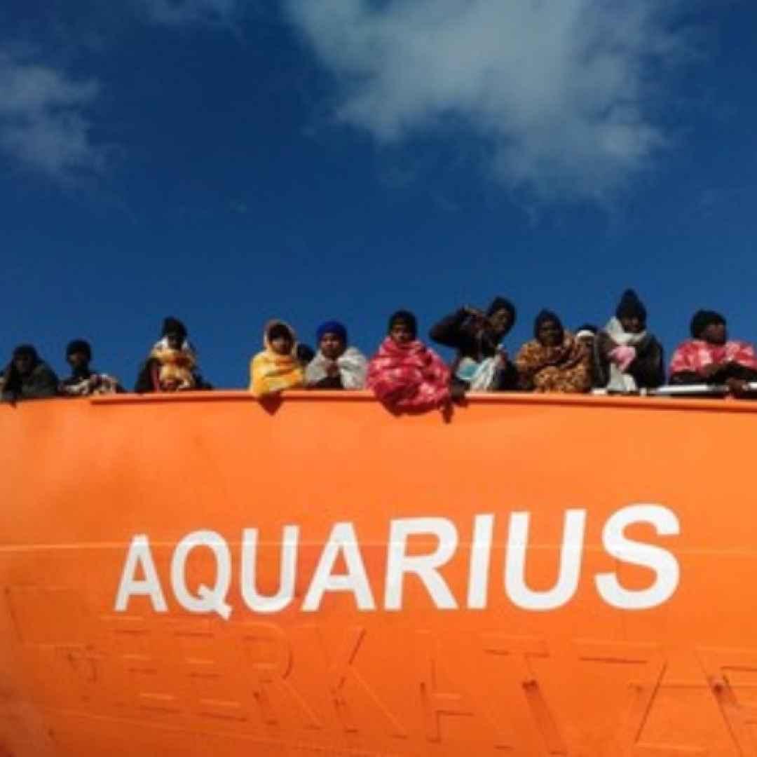immigrazione  aquarius  salvini