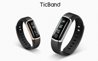 mobvoi ticband  smartband  mi band  tech