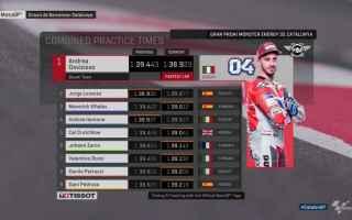 MotoGP: GRAN PREMIO DELLA CATALOGNA FP3: DOVIZIOSO RISPONDE A LORENZO