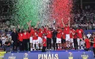 Basket: milano  trento  finale  playoff  seriea  olimpia